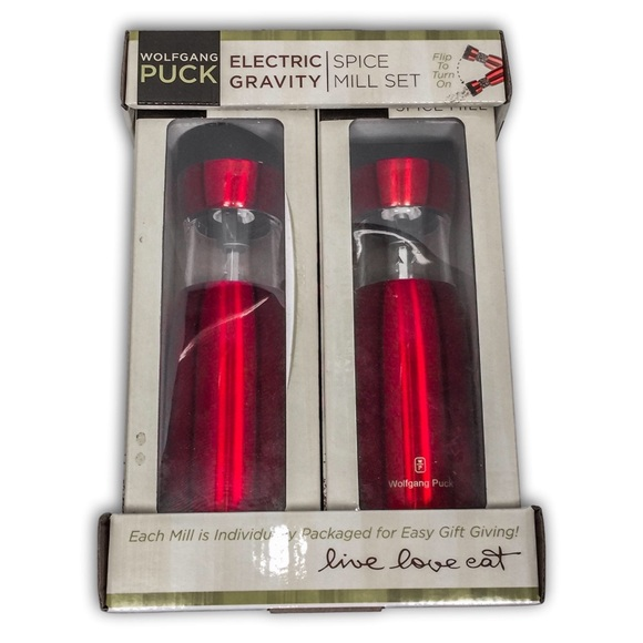 Wolfgang Puck Other - Wolfgang Puck Electric Gravity Spice Set of 2